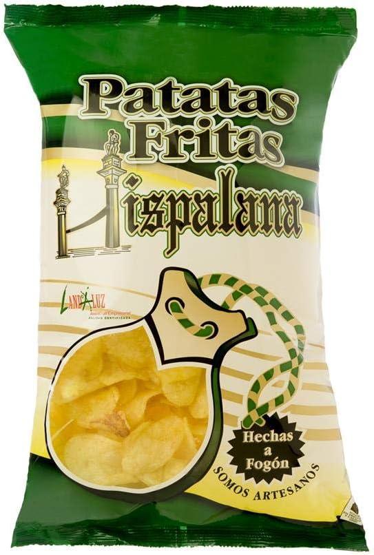 Pack 25 unds patatas fritas artesanas, elaboradas con aceite de girasol, bolsa de 70 grs | patatas fritas con delicioso sabor, textura crujiente, sin gluten