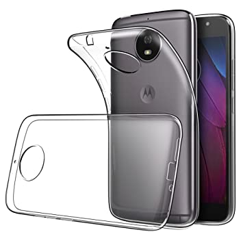 Simpeak Funda Compatible Moto G5S, Fundas Transparente Motorola Moto G5S Carcasa Lenovo Moto G5S Funda (5,2 Pulgadas) Silicona TPU Case, Cover Moto ...
