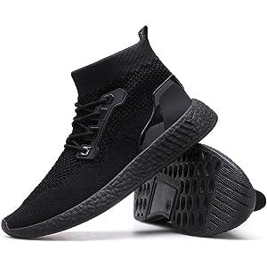 6b1815180ec11 DENER❤ Men Wedge Sneakers Shoes, Breathable Lightweight Wide ...