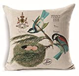 Custom Pillow Sham Indoor/Outdoor Cushion Covers Print Square 16X16 inch