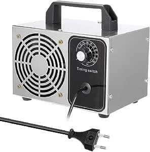Steeler Generador de ozono portátil Purificador de Aire O3 ...