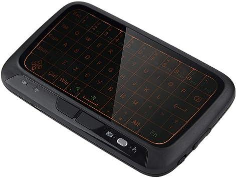 Air Mouse Keyboard, 2.4G Mini Teclado retroiluminado Teclado de PC Control Remoto para TV Box PC, Pad, Smart TV, HTPC, Android TV Box