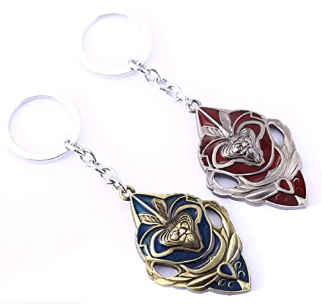 2pcs World of Warcraft Lucha por la Alianza Batalla Llavero ...