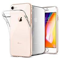 Coque iPhone 7, Coque iPhone 8, Spigen [Liquid Crystal] Ultra Mince Premium TPU Silicone [Crystal Clear] Premium transparent / Exact Fit / NO Bulkiness Souple Coque Pour iPhone 7 (2016) et iPhone 8 (2017) - (042CS20435)