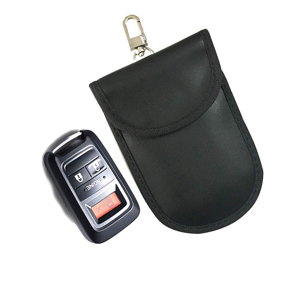 Anti-Hacking Case Blocker for Key Fob Anti-Theft Pouch RFID Signal Blocking