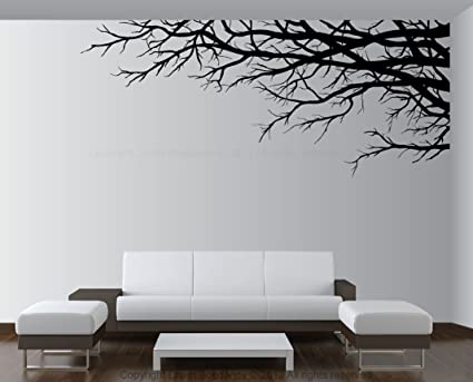 Amazon.com: Vinyl Wall Art Mural Decal Tree Top Branches 28\
