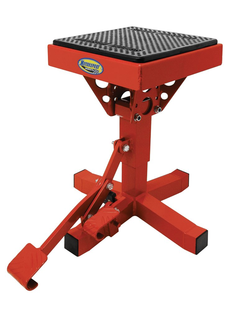 Motorsport Products 92-4014 Blue P12 Adjustable Lift Stand