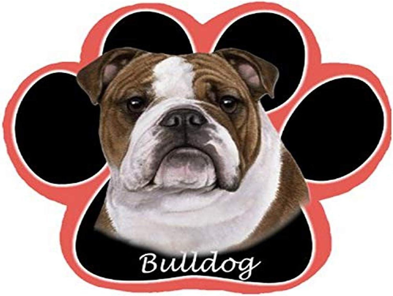 Bulldog Dog Paw Non-Slip Mousepad