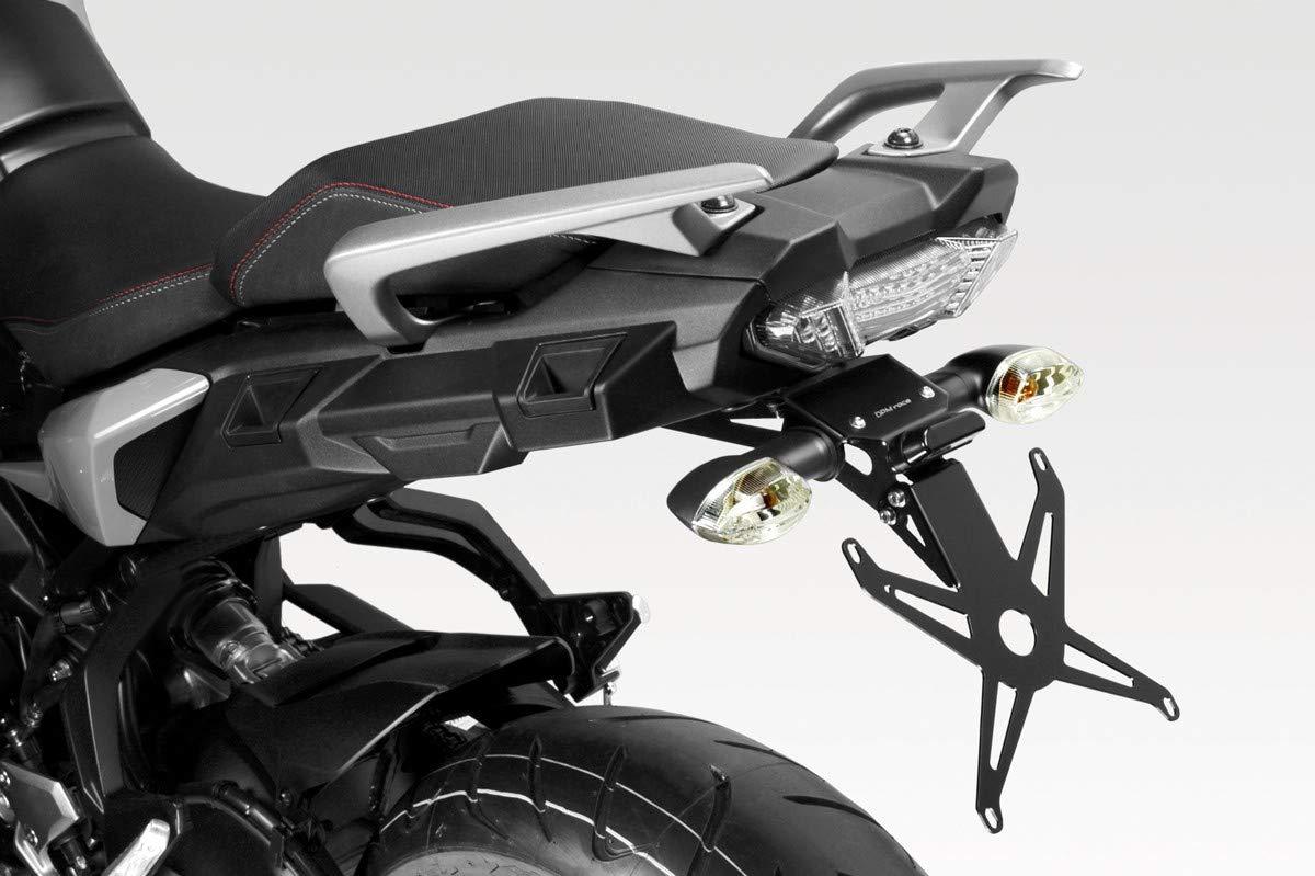 LED und Hardware-Bolzen MT09 Tracer 2018//2019 inkl DPM - 100/% Made in Italy R-0915 Kit Kennzeichenhalter Motorradzubeh/ör De Pretto Moto - Aluminium Nummernschildhalter Halteplatte