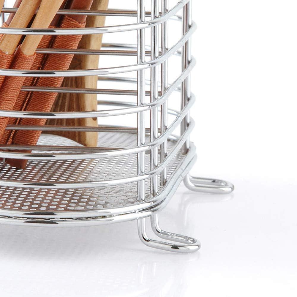 Rameng Panier /à Couverts /Égouttoir /à Couverts Porte Vaisselle INOX Ustensiles de Cuisine
