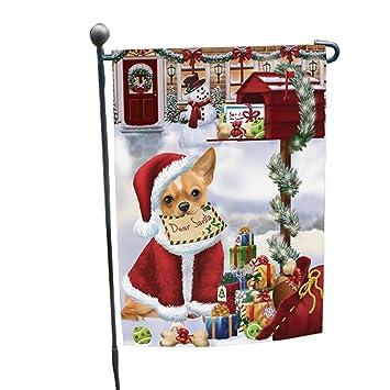 Carta de Navidad Dear de Papá Noel buzón perro Chihuahua ...