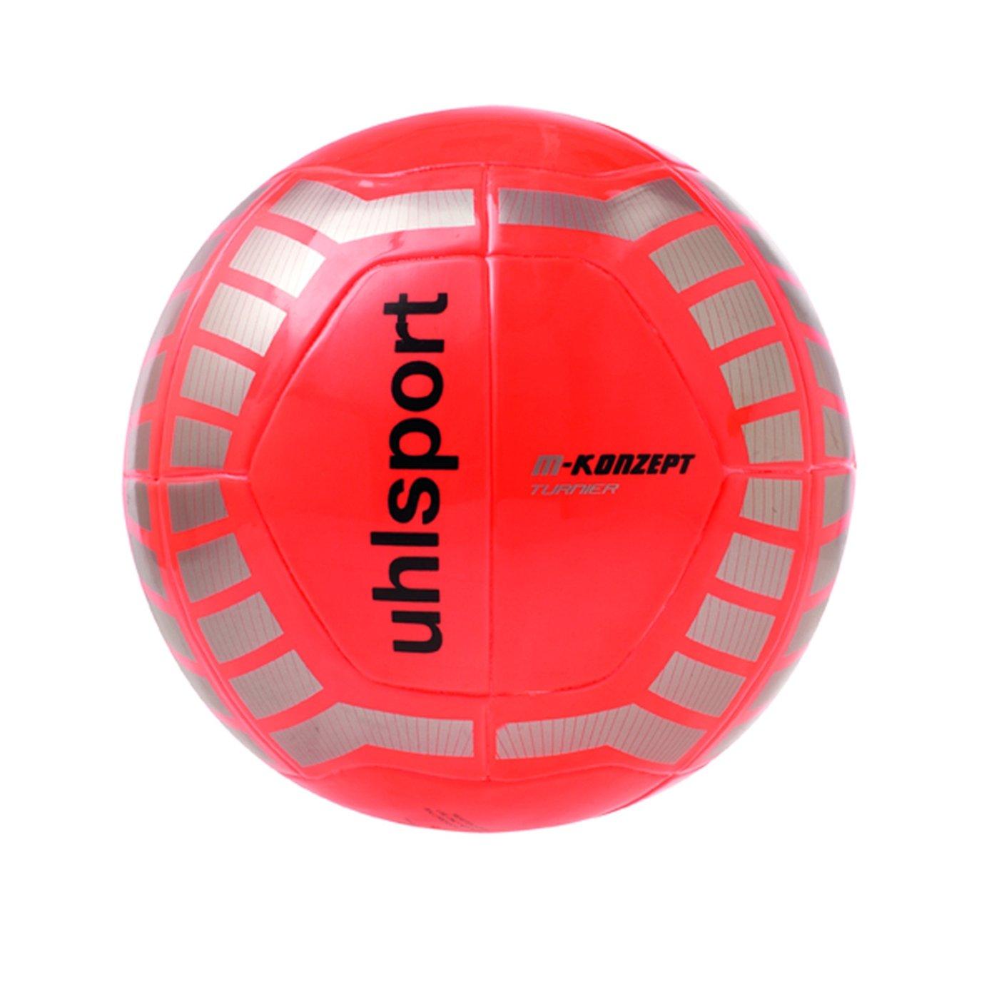 Uhlsport M-konzept Turnier - Balón naranja orange/silber/schwarz ...