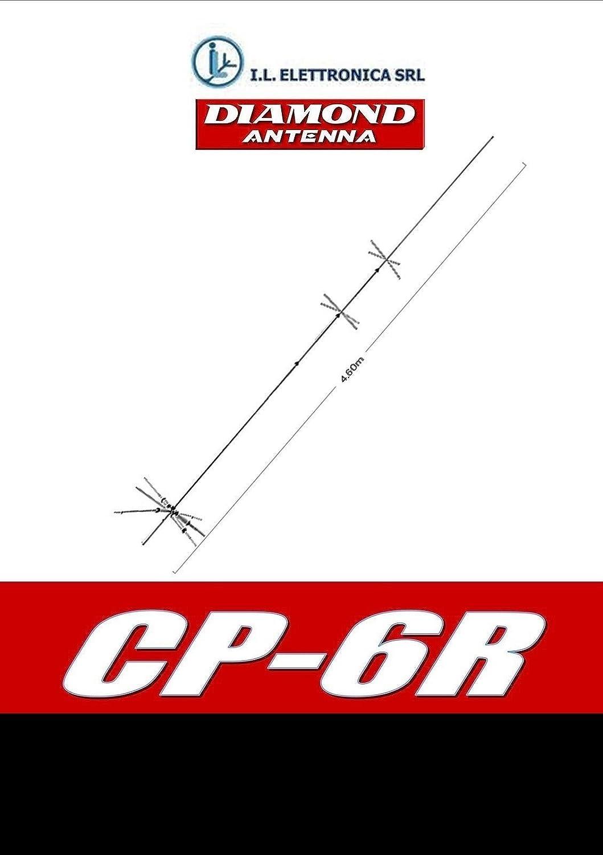 Diamond cp-6r Antena Vertical HF/50 MHz 800008: Amazon.es ...