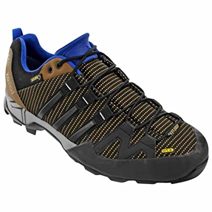 newest 117ab 3e718 Amazon.com  adidas outdoor Terrex Scope GTX Approach Shoe - Men s  Earth Black EQT Blue 7  Sports   Outdoors