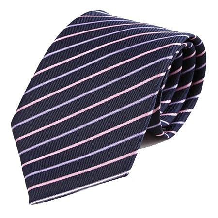 Y-WEIFENG Corbata de Negocio Corbata de poliéster Corbata de ...
