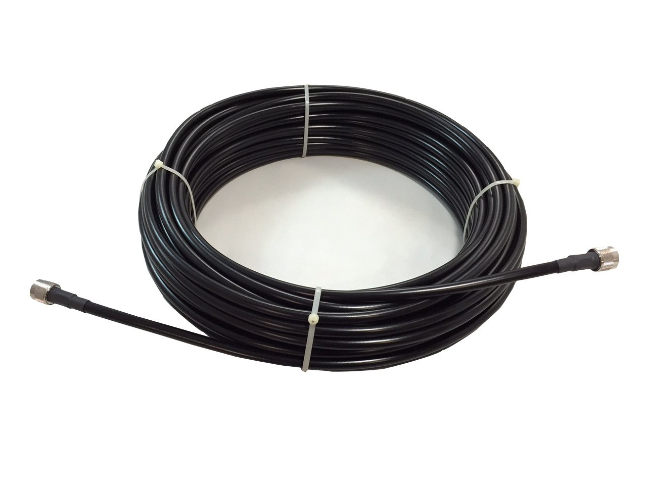 Amazon.com: LOW-240 RF Coax Cable Jumper - 3 Meters with N Male Connectors: Home Audio & Theater