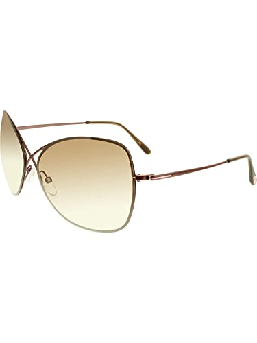 d0008e39f59f Amazon.com  Tom Ford Sunglasses TF 250 BRONZE 48F Collete  Tom Ford ...