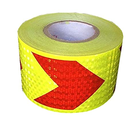 5m Car Truck Motorcycle Reflective Film Sticker Decor Safety Warning Roll Tape
