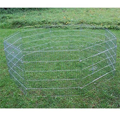 Freilaufgehege 8 Eck + kostenloser Versand // Hasen Auslauf Freigehege Kaninchen Nager Freilauf