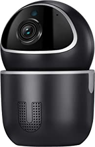 TENVIS & IoTeX Ucam -Dog Camera, Indoor Security Camera with Motion Detection/Night Vision/2-Way Audio/PTZ. Blockchain for Your Data, Amazon Cloud & SD Card Storage, 100% Privacy-Protection IP Camera