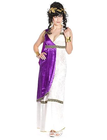 Wilbers - Disfraz de romano para mujer, talla UK 14-16 (437242)