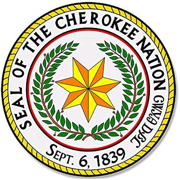 Cherokee Indian Water Decal