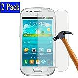 2x Samsung Galaxy S3 mini plt24 Ultra-Klar Glasfolie Panzerglas Schutzfolie Displayschutzglas Schutzglas Hartglas für Samsung Galaxy S3 mini (2 Stück)