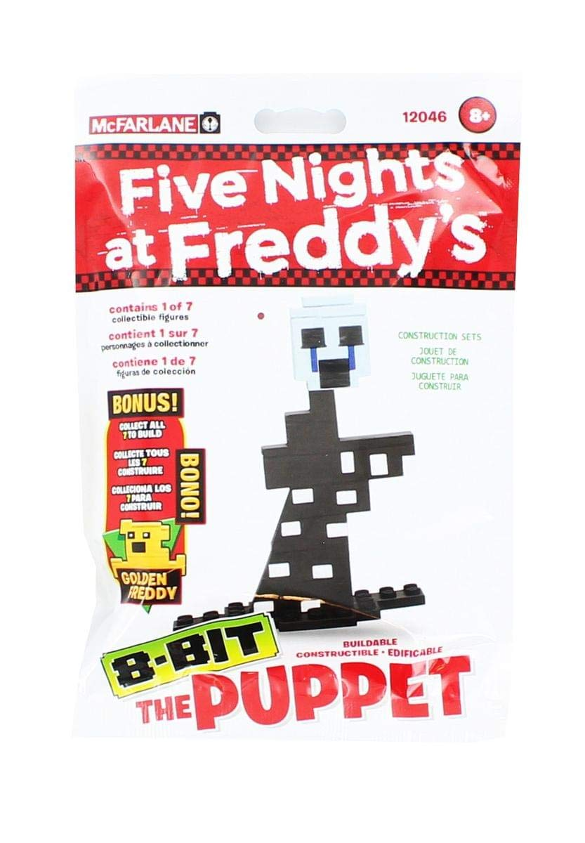 McFarlane Toys Five Nights At Freddy's - The Puppet 8-Bit Buidable Figure