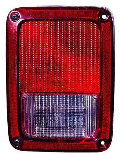 Jeep Wrangler 07-10 Rear Tail Light Lamp With Bulb Lh