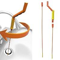 Abflussschlangen-Abfluss-Schlange, Anti-Verstopfen-Entferner Flexibler Abfluss-Entlastung Schlangen-Reinigungswerkzeug für Küche Spüle Badewanne Dusche