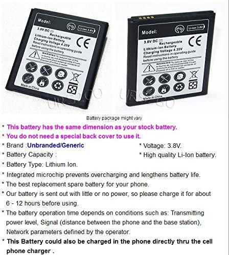 High Grade 3500mAh Extra Standard Rechargeable Battery for T-Mobile Samsung Galaxy J3 Prime SM-J327T Phone Galaxy J3 Prime Battery