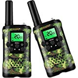 Toys for 3-12 Year Old Boys, Walkie Talkies for Kids 22 Channels 2 Way Radio Kid Toy Gift 3 Miles Long Range with…