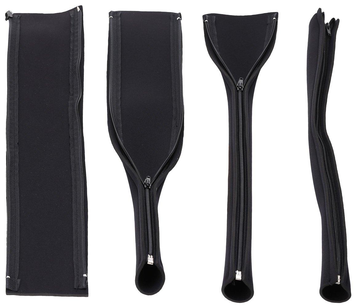 Amazon.com: BindMaster 458 Neoprene Zip-up Cable Sleeves, Set of 4 ...