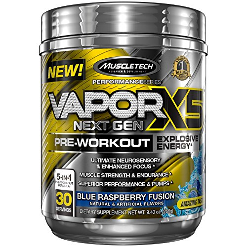 MuscleTech Performance Pre Workout Raspberry Servings product image