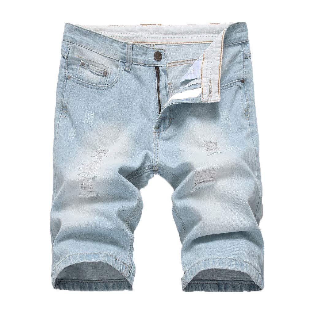 Pantalones Cortos De Verano para Hombre Pantalones Cortos Hommes Jean Bermudas Skate Board Harem Fashion Jean