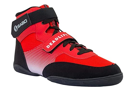 Sabo Deadlift Shoes (36 RUS / 5 US, Red)