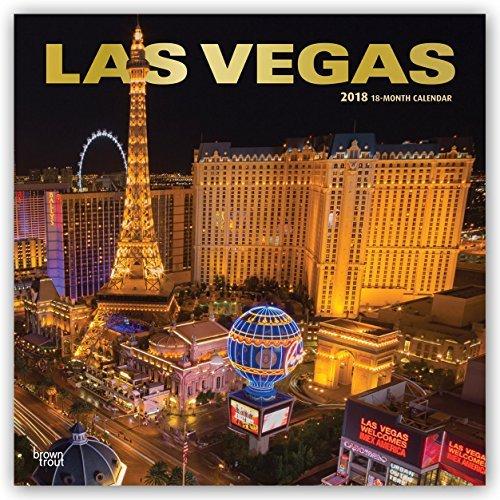 Las Vegas 2018 Monthly Square Wall Calendar (Las Vegas Planner)
