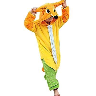 Longxing Cosplay Child Fox Cartoon Animal Siam Pajamas Halloween Theme Party Funny Long Sleeve