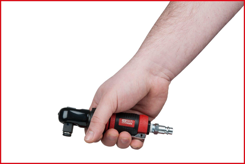 Zoll KS Tools 515.5515 1//2 SlimPOWER Mini-Druckluft-Umschaltratsche 34Nm