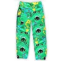 Spring Fever Baby Girl Kid Cute Flower Print Waterproof Rain Pants Rainwear