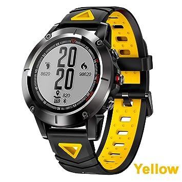 LCDIEB Reloj Deportivo Reloj GPS Smart Watch Men IP68 Impermeable ...