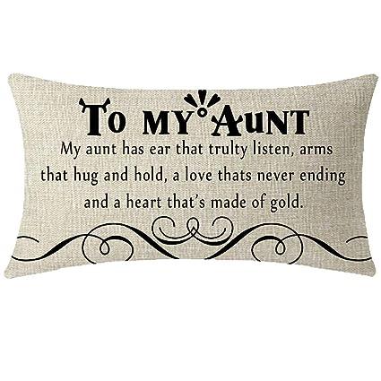 Amazon.com : YIGUANGYEAR Nice Auntie Aunt Gift from Nephew ...