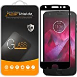 Supershieldz (2 Pack) for Motorola (Moto Z2 Force) Edition and Moto Z Force Edition (2nd Gen) Tempered Glass Screen Protector