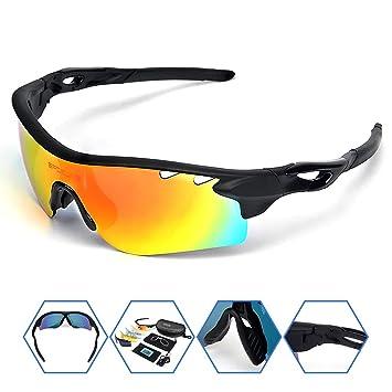 Amazon.com: SPOSUNE - Gafas de sol polarizadas deportivas ...