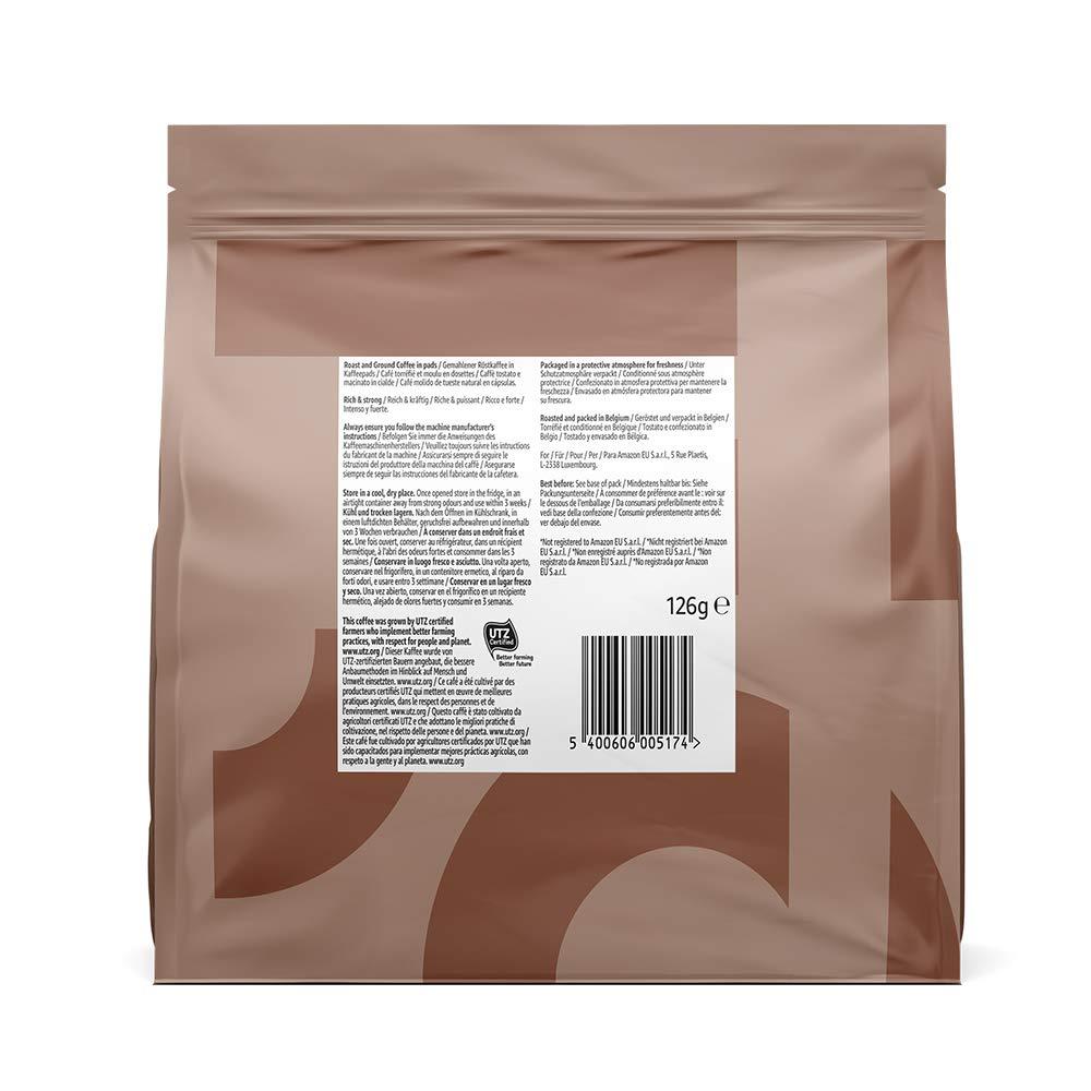 Marca Amazon- Solimo Cápsulas Strong, compatibles con Senseo ...