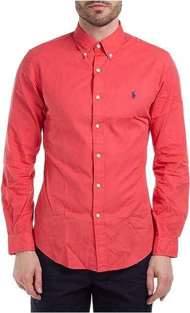 Polo Ralph Lauren camisa hombre mod. 710-787192 multicolore: Amazon.es: Ropa y accesorios