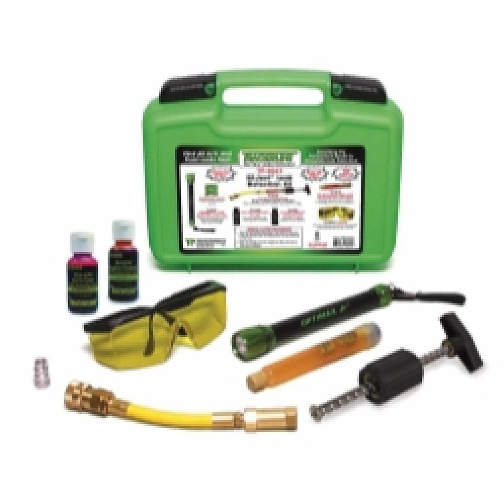 Complete OPTIMAX Jr. /EZ-Ject A/C and Fluid Leak Detection Kit by Generic (Image #1)
