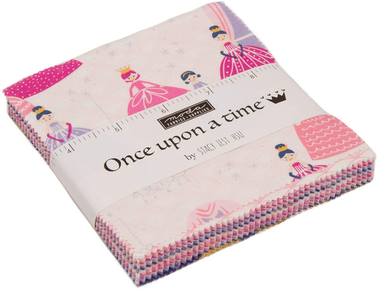 Once Upon A Time Charm Pack by Stacy Iest HSU; 42-5'' Precut Fabric Quilt Squares by MODA