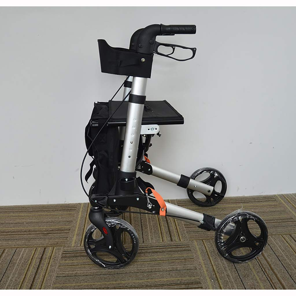 Ayuda Plegable de la Movilidad de Gray Walking, Walker ...