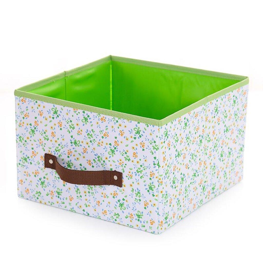 Xuan - Worth Another Blumenfeld Grün Keine Abdeckung Aufbewahrungsbox Aufbewahrungsbox Aufbewahrungsbox Aufbewahrungsbox Kleidung Finishing Box Falten Aufbewahrungsbox (Farbe   3pcs) d9d7e2